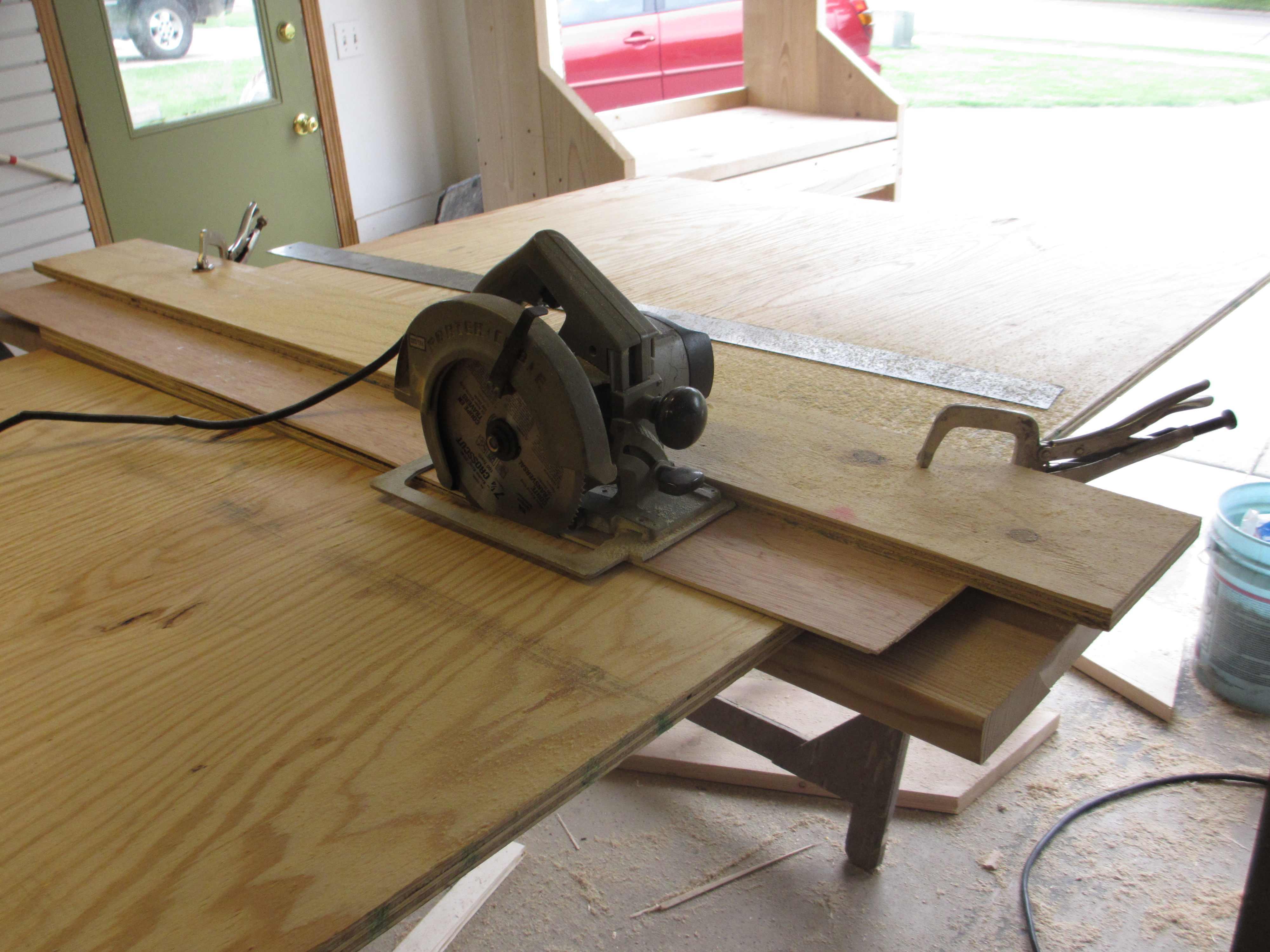 Diy cutting plywood with circular saw wooden pdf