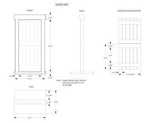 Building scenic units quiet man 2 designandtechtheatre for Standard deck board lengths