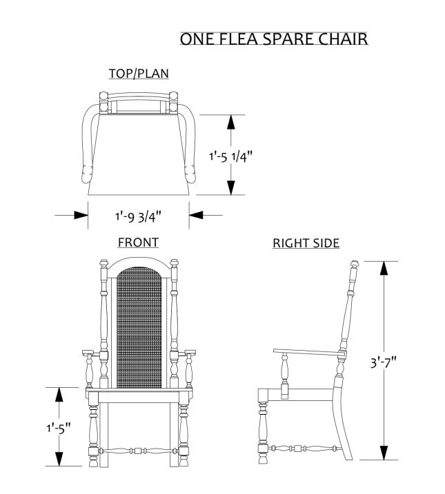 Free Furniture Templates 1 4 Scale Plans Free Download